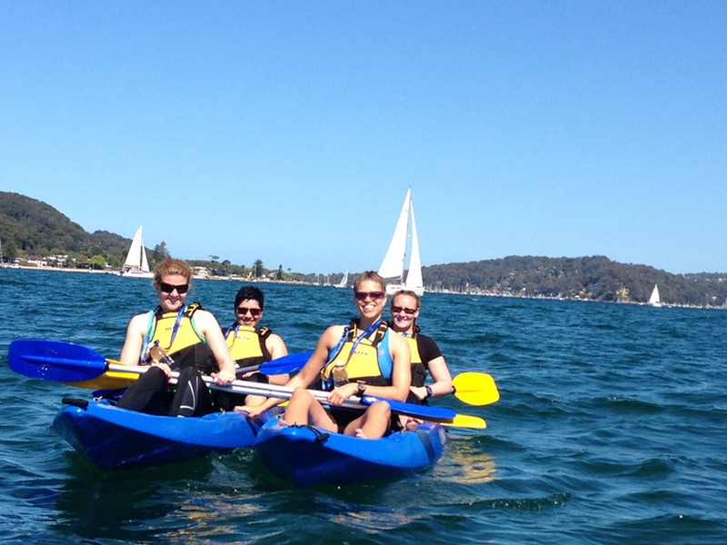 Palm Beach Australia Kayak