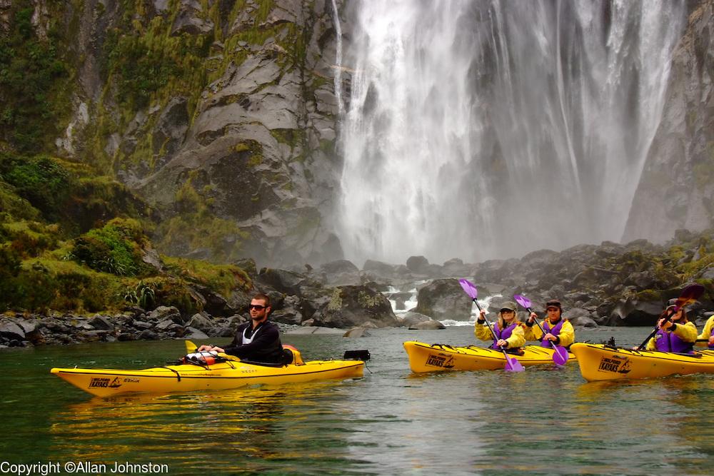 Milford Sound New Zealand Kayak