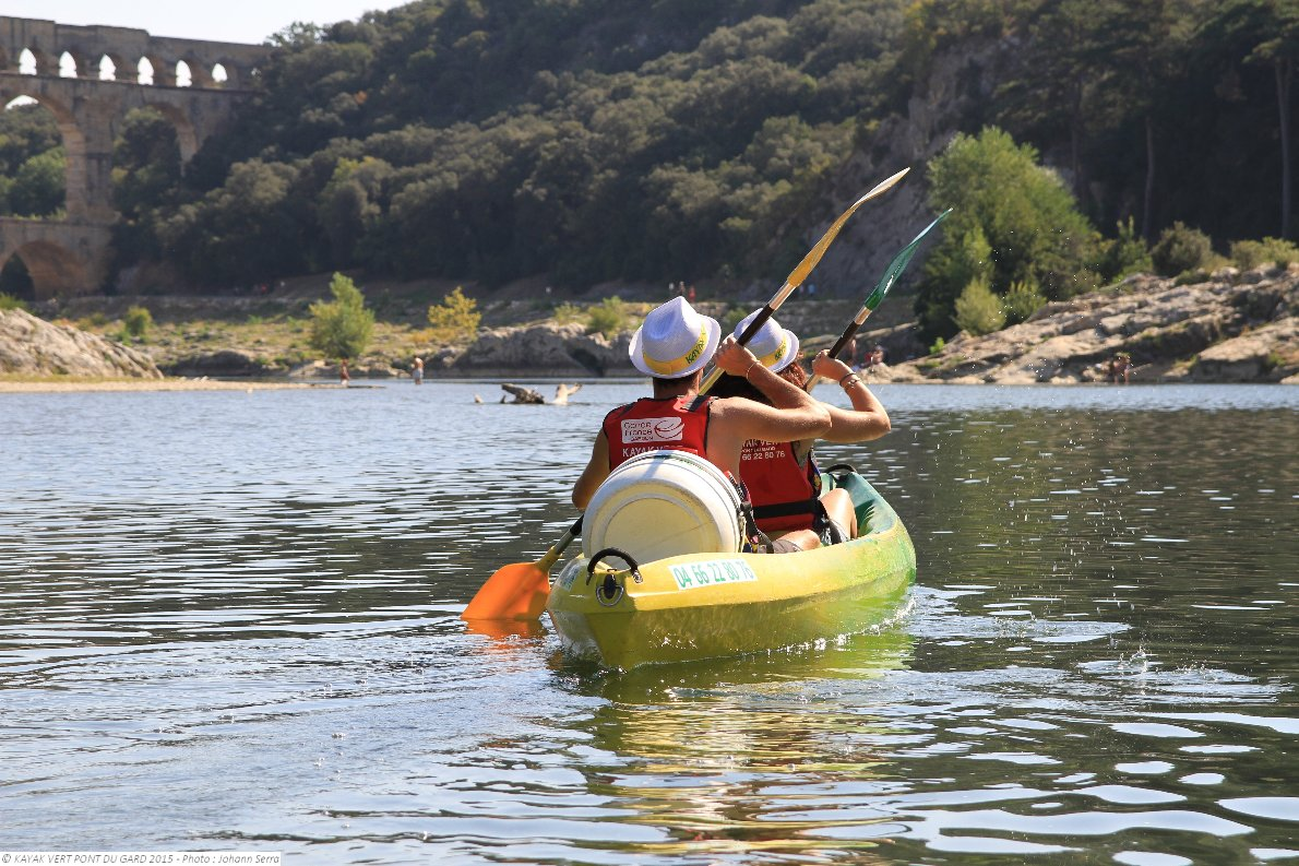Collias France Kayak