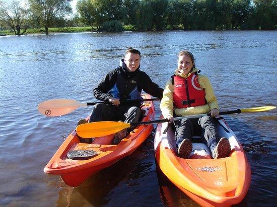 Chester England Kayak