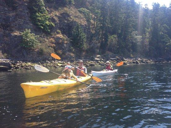 Galiano Island British Columbia Kayak