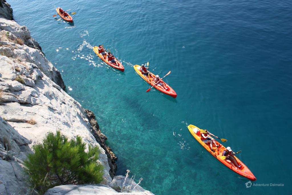 Brela Croatia Kayak