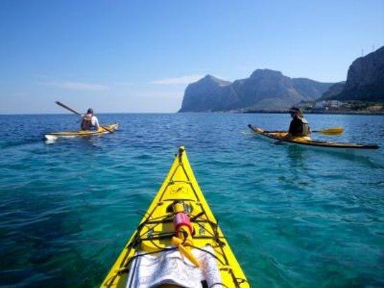 Catania Italy Kayak