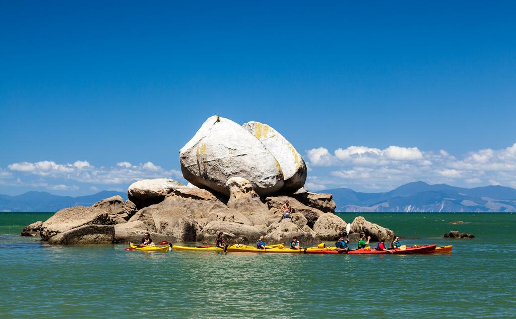 Kaiteriteri New Zealand Kayak
