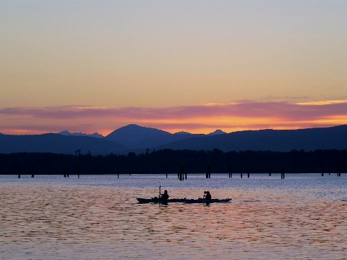 Cowichan Bay British Columbia Kayak