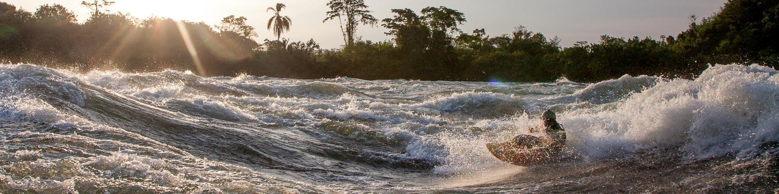 Jinja Uganda Kayak
