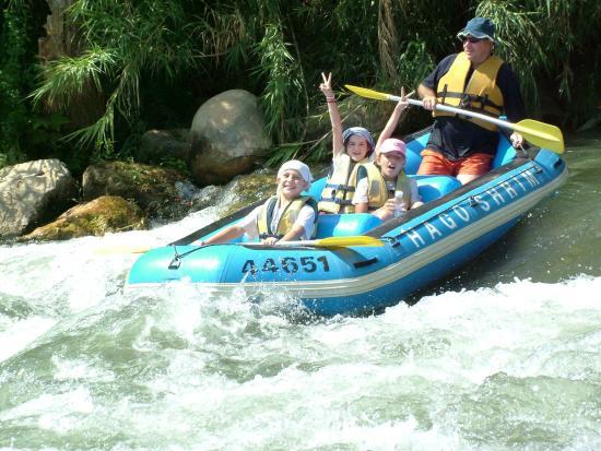 Galilee Israel Kayak