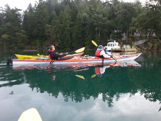 Pender Island British Columbia Kayak