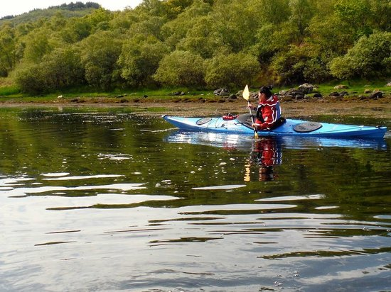 Dunoon Scotland Kayak