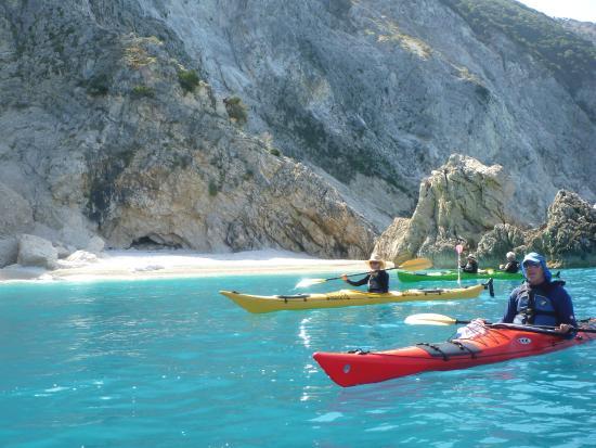 Cephalonia Greece Kayak