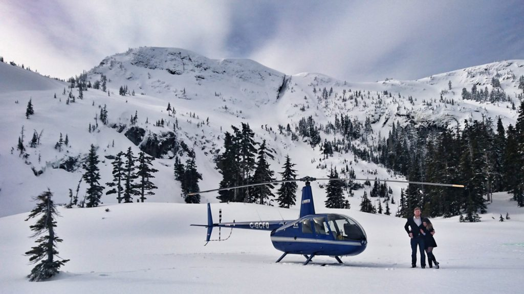 Campbell River British Columbia Helicopter Rides