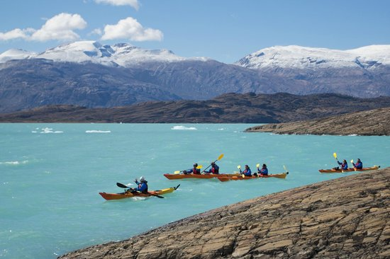 Lago Argentino Argentina Kayak