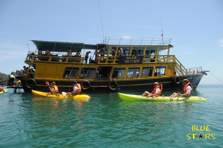 Ko Samui Thailand Kayak