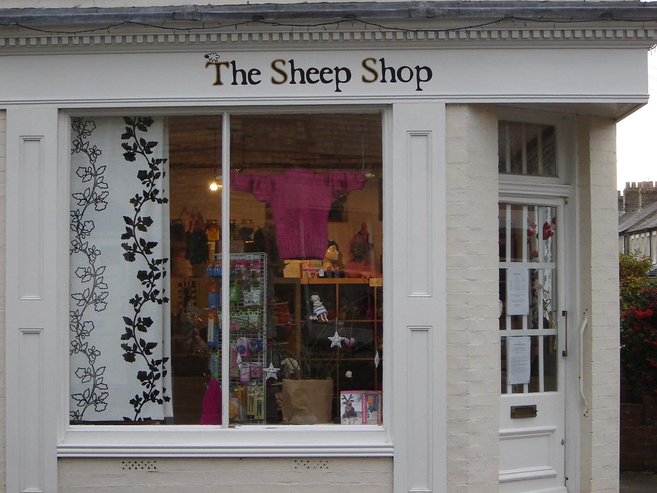 Cambridge England Shopping