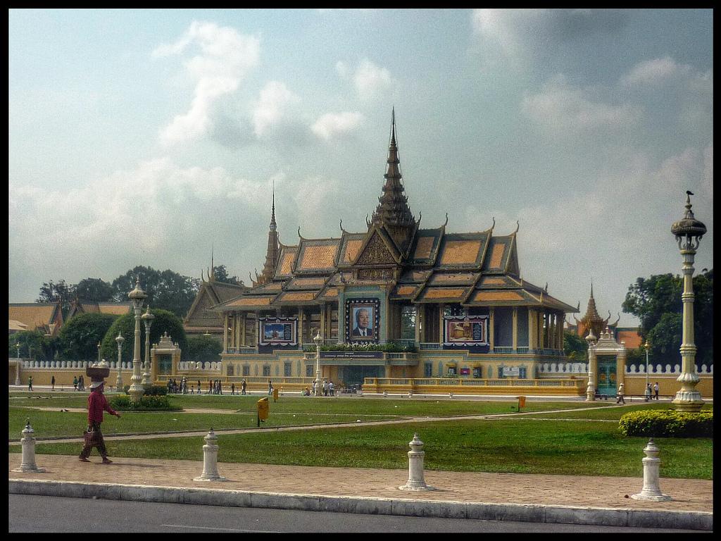 Phnom Penh Cambodia Palace