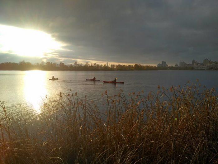 Kiev Ukraine Kayak