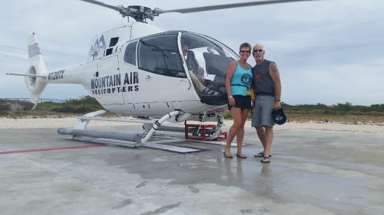 Grand Turk United Kingdom Helicopter Rides
