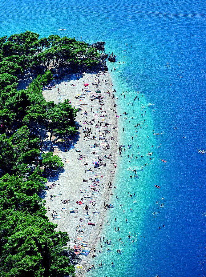Brela Croatia Beaches