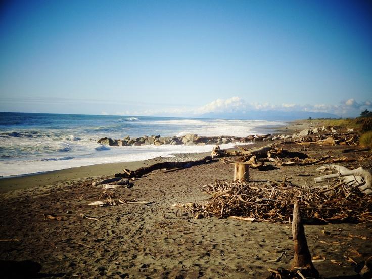 Hokitika New Zealand Beaches