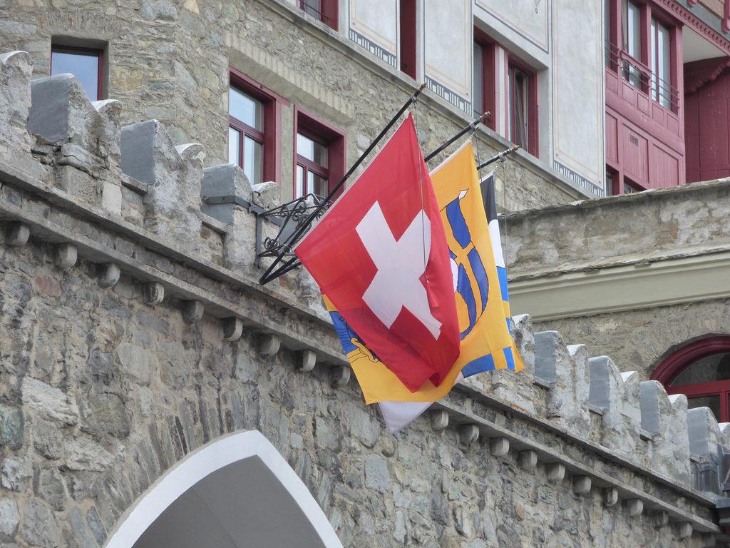 Swiss Alps Switzerland Palace