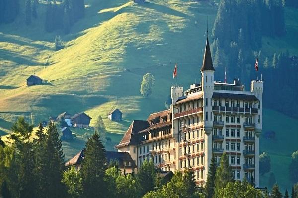 Gstaad Switzerland Palace