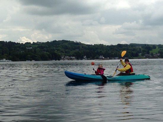 Lake District England Kayak