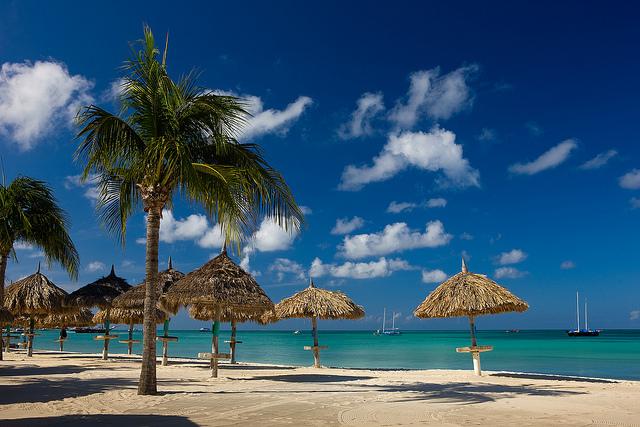 J.E. Irausquin Boulevard Aruba Beaches