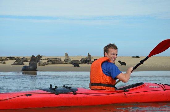 Walvis Bay Namibia Kayak