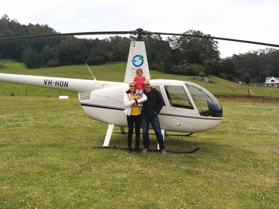 Strahan Australia Helicopter Rides