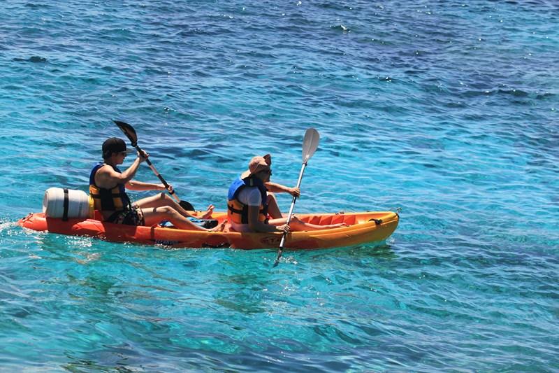 Plage de Malendure Guadeloupe Kayak
