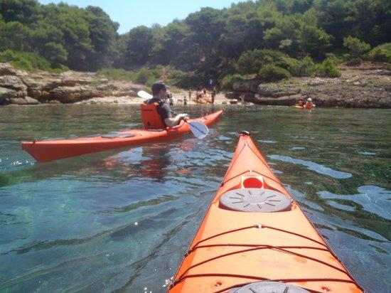 Alghero Italy Kayak