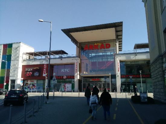 Gyor-Moson-Sopron County Hungary Shopping