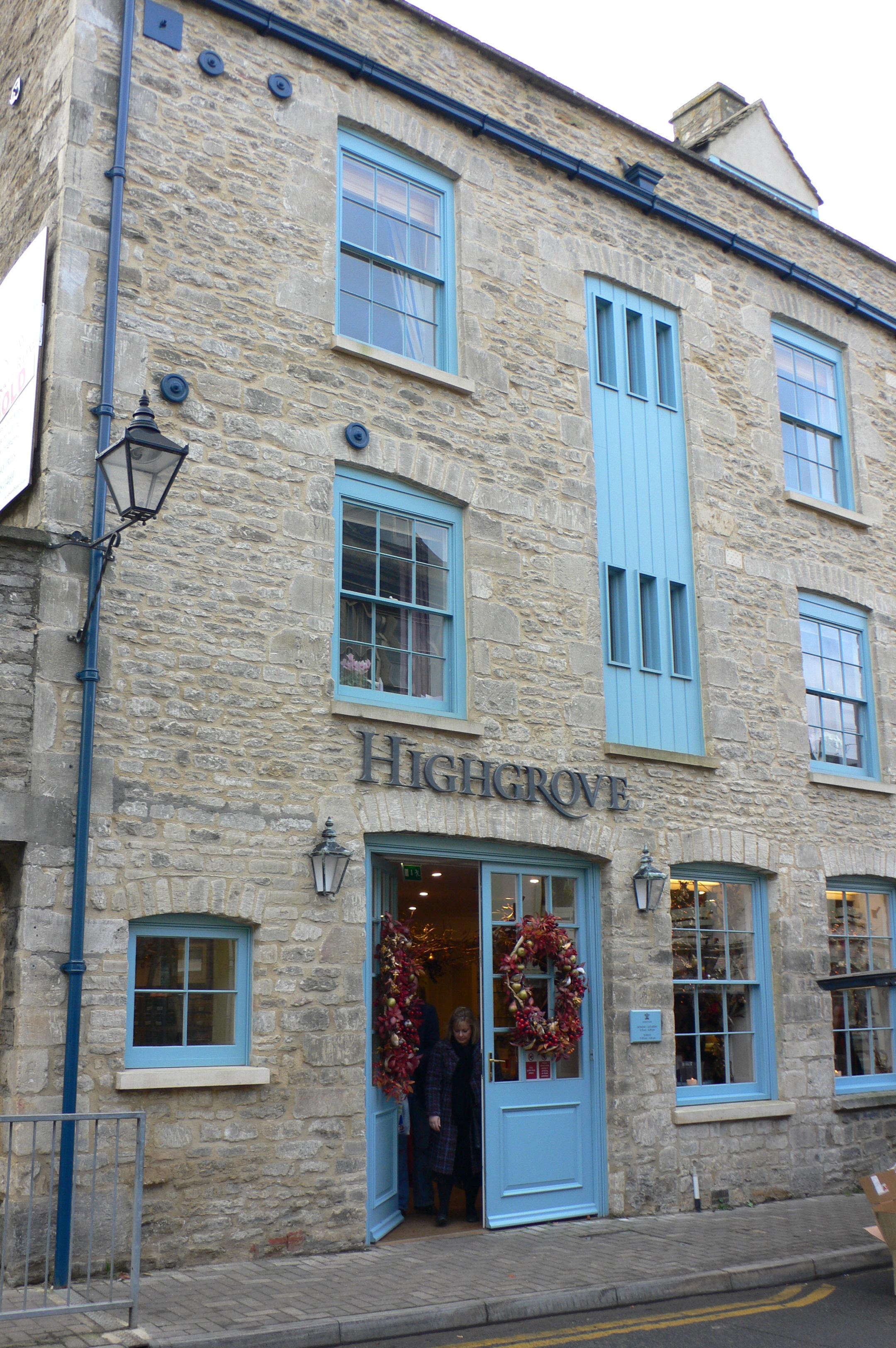 Tetbury England Shopping