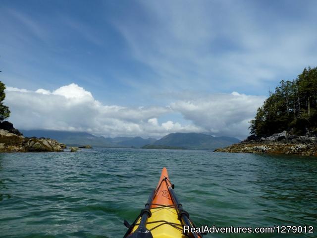 Ucluelet British Columbia Kayak