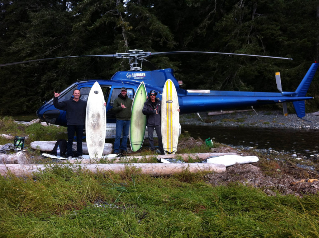 Campbell River Canada Helicopter Rides