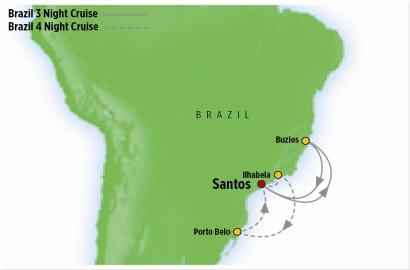 Brazil Cruises